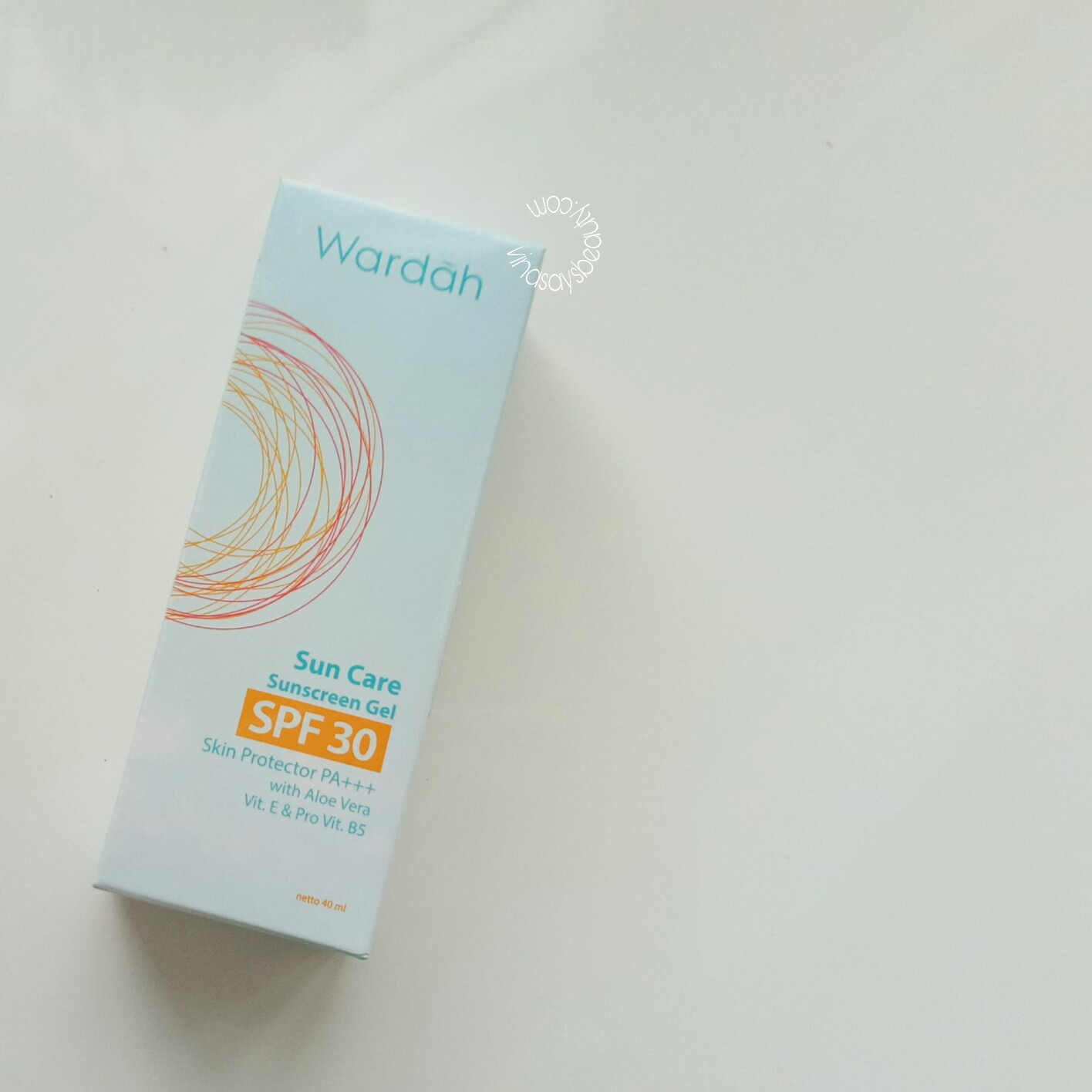 REVIEW WARDAH SUNSCREEN GEL SPF 30 PA