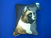 Fawn White Boxer Pillow