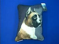 Fawn White Boxer Pillow