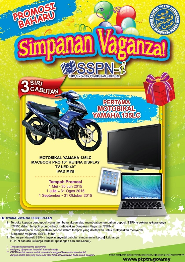 Simpanan Vaganza Contest with awesome prized to be won