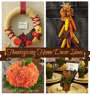 Thanksgiving Home Decorating