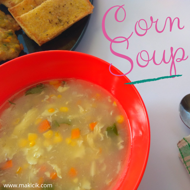 Sup ayam jagung