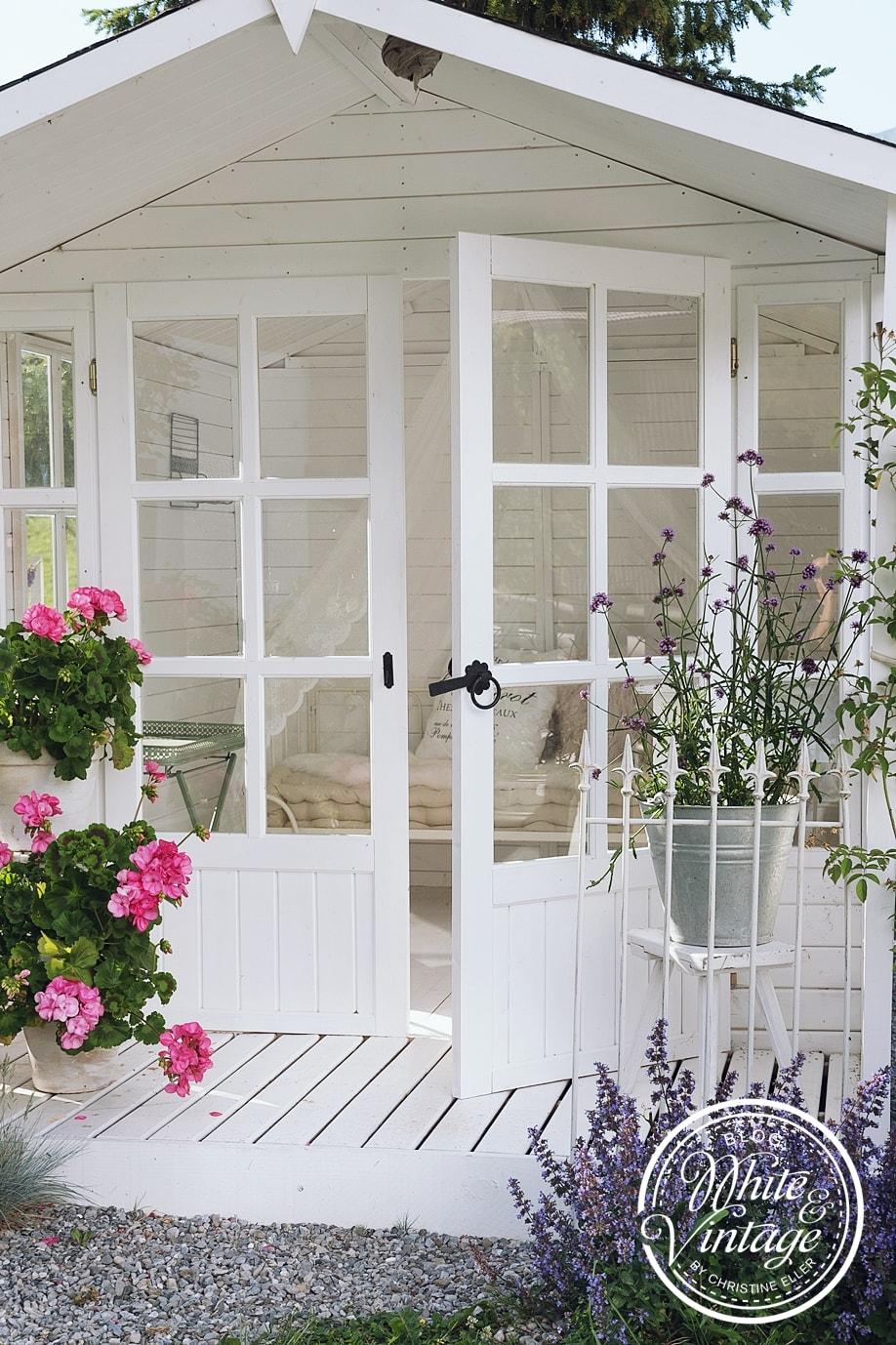 ein Gartenhaus als Sommeroase
