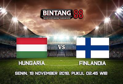 Prediksi Hungaria vs Finlandia 19 November 2018