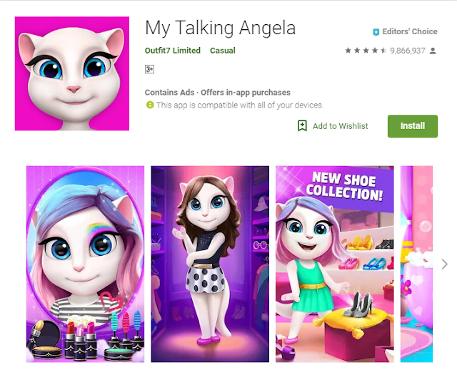 Memainkan Talking Angela pada Jam 3 Pagi Hororrkah ..?