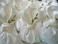 Olive leaf wedding favors