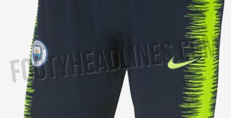 eccf3c35ffa Nike Manchester City 18-19 Training Kit Leaked