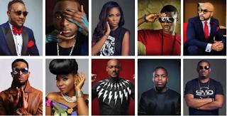 10 Most Popular Artistes In Nigeria (Photos)
