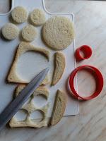 come realizzare un coniglio con pane in cassetta