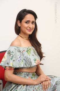 Actress Pragya Jaiswal Stills in Floral Dress at turodu Interview  0165.JPG