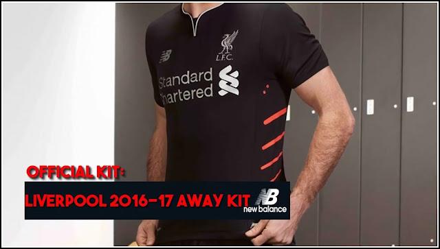 NB Liverpool Away Kit 2016-17 Shirt