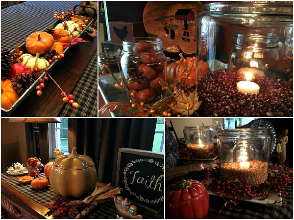 Decorating for Fall doesn't have to cost a lot of money.  Here are a few ideas on how to decorate on a budget from Walking on Sunshine Recipes.
