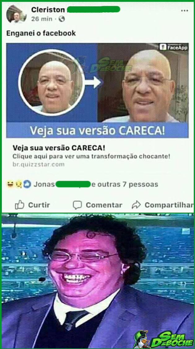 TROLLOU O FACEBOOK