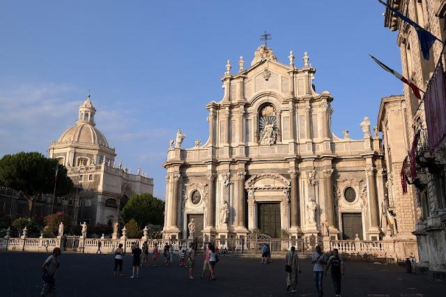 Catedral da cidade de Catania
