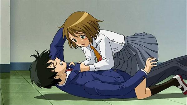 Sora no Manimani - Anime romance terbaik lelaki tinggi perempuan pendek