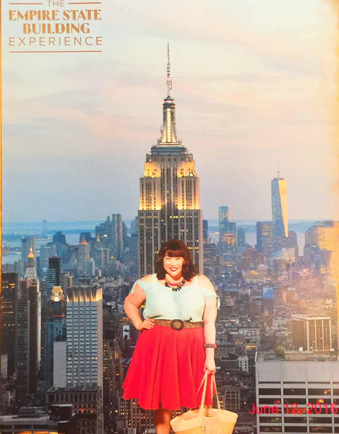 Plus Size Blogger Style Plus Curves at Empire State Building