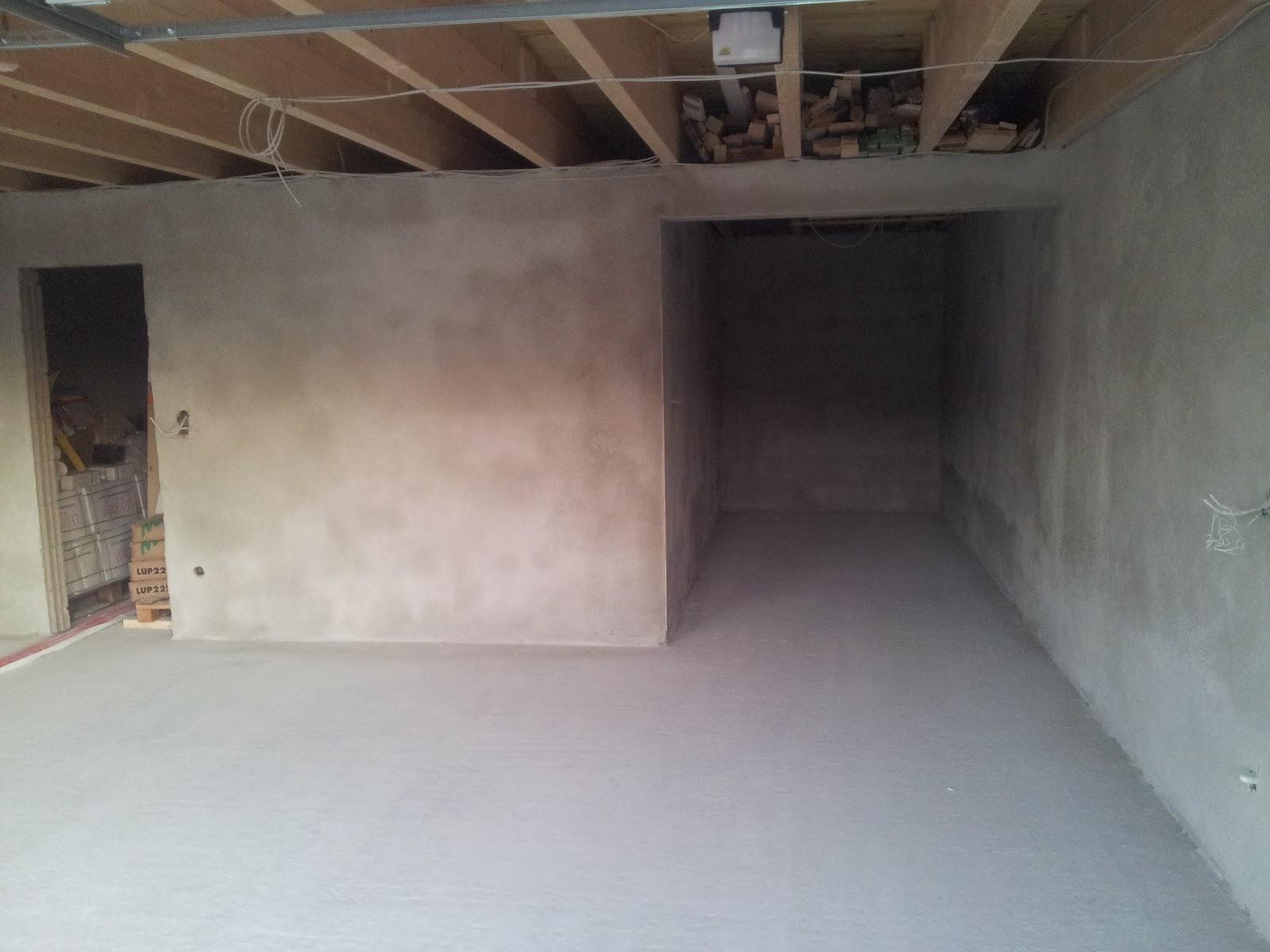 Super Unser Traum(Pro)Haus: 20.10. - Estrich Garage TW95