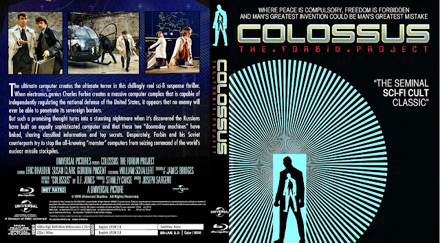 Colossus: The Forbin Project Bluray Cover