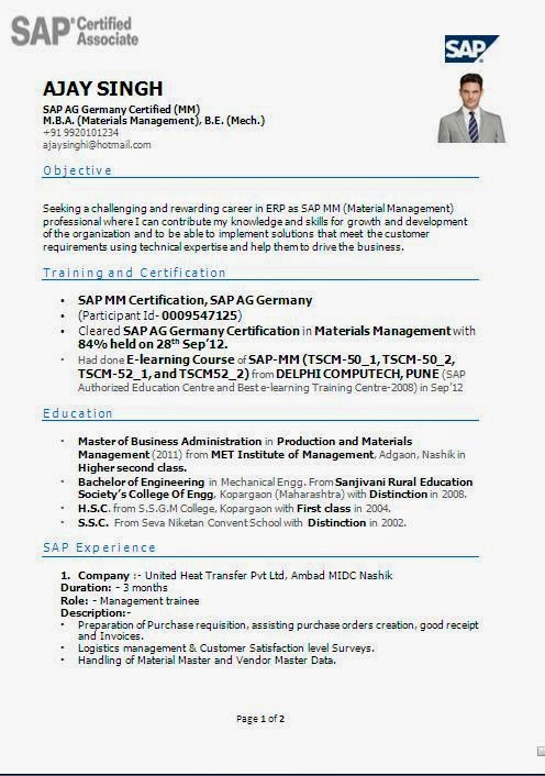 Cv Formats For Germany Cover Letter Template Non Advertised Job