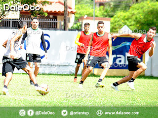 Abraham Cabrera y José Alí Meza volvieron a entrenarse - DaleOoo - Oriente Petrolero