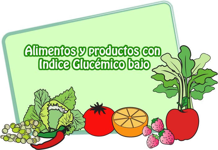 Dieta con alimentos de indice glucemico bajo