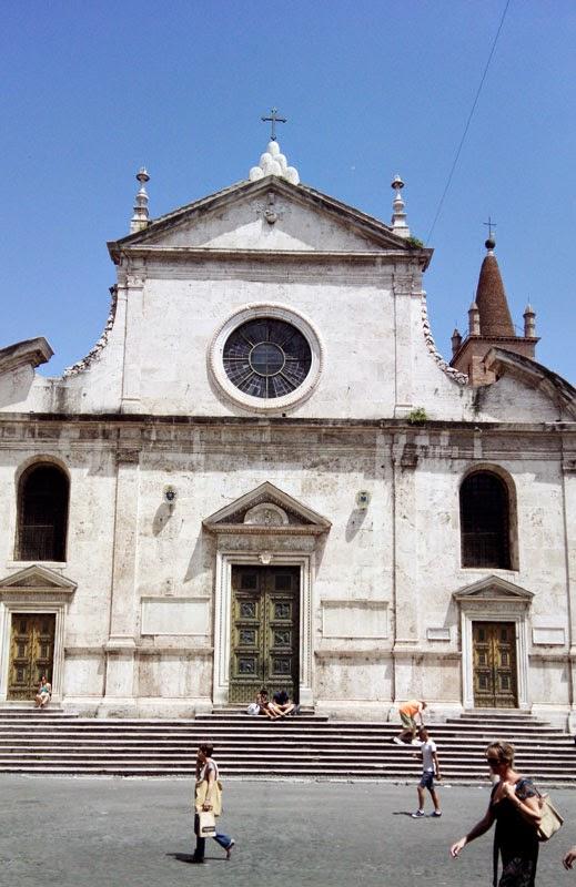 stama popolo - Santa Maria del Popolo - como um museu!