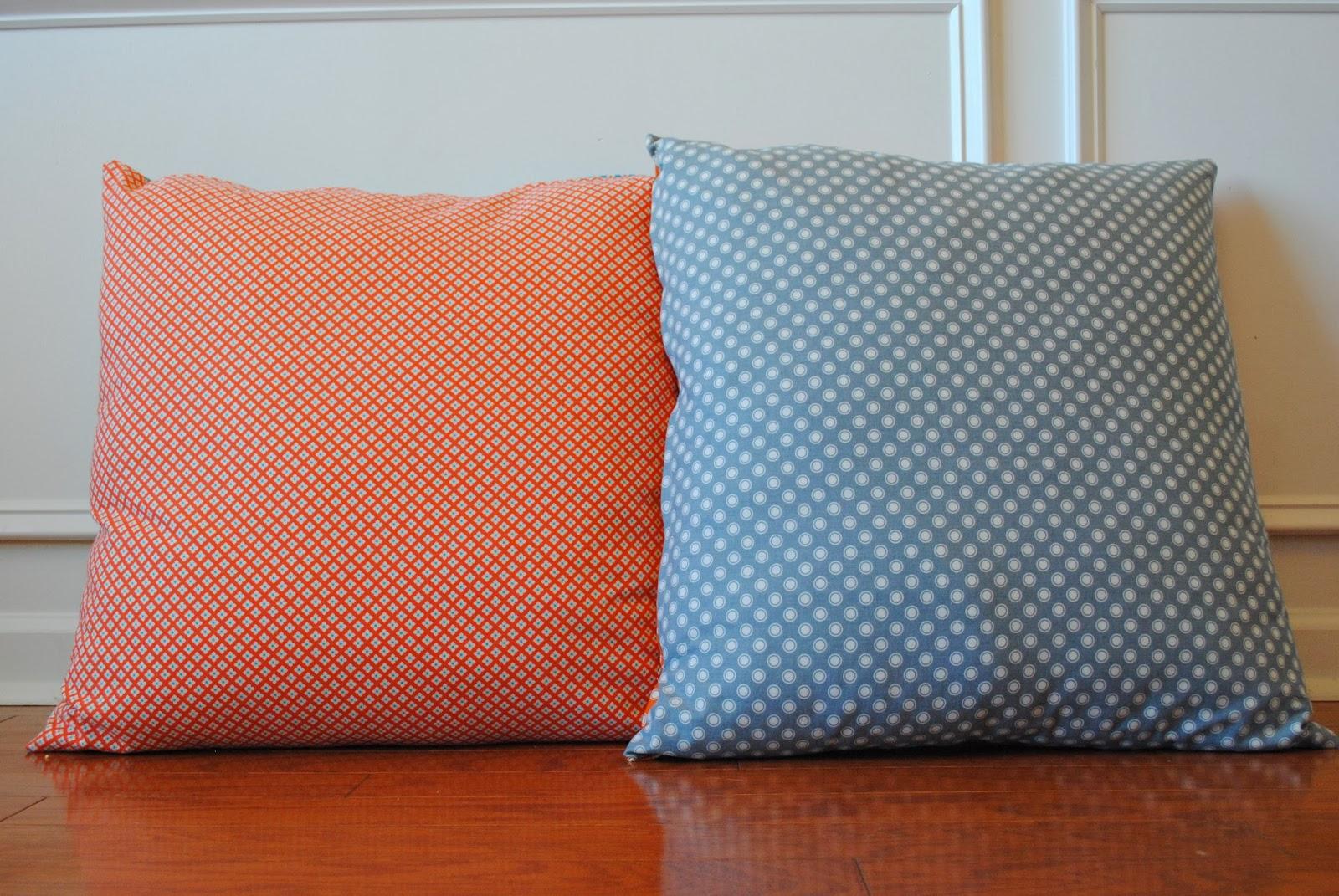 Upside Of Chaos: Big Comfy Floor Pillows