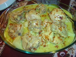 Cara Membuat Opor Ayam Padang Asli Yang Lezat