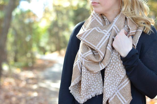 stripe-camel-scarf