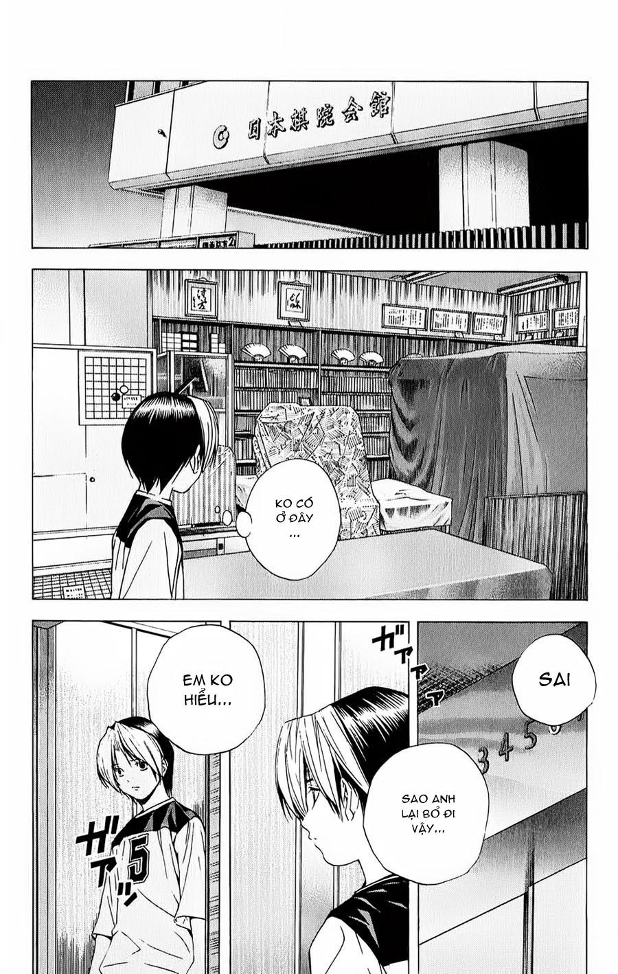 Hikaru No Go hikaru no go chap 128 trang 17