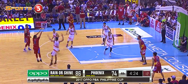 Rain or Shine def. Phoenix, 97-82 (REPLAY VIDEO) January 8