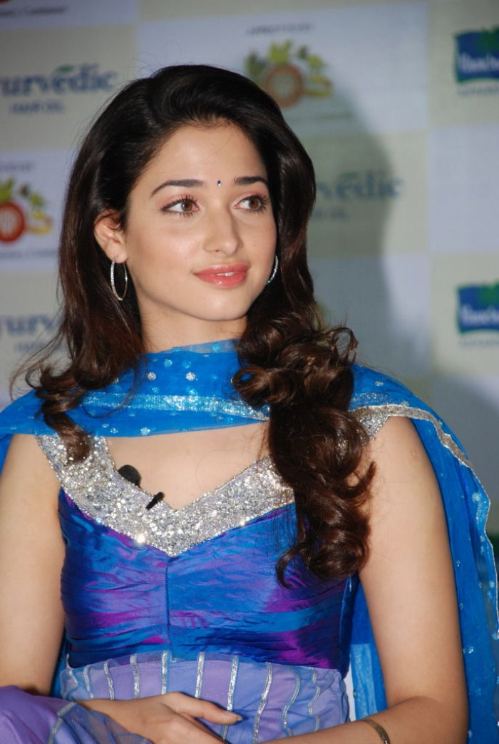 Tamanna Home: Cute Photos: Tamanna At Parachute Ayurvedic Hair Oil