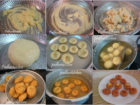 Badusha badusha recipe step by step recipe padhuskitchen how to make badusha forumfinder Images