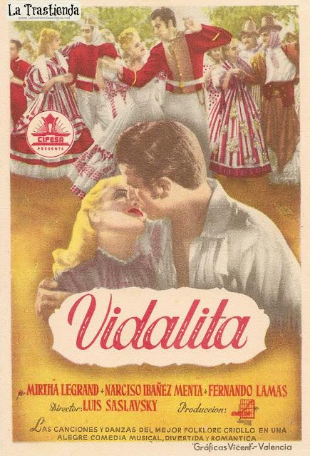 Vidalita - Programa de Cine - Mirtha Legrand - Narciso Ibáñez Menta