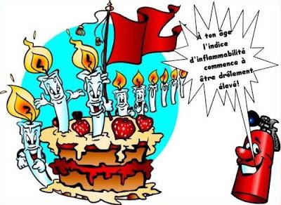 message humoristique anniversaire