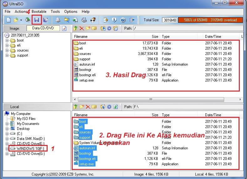 Cara Mudah Membuat File ISO dari Flashdisk Bootable