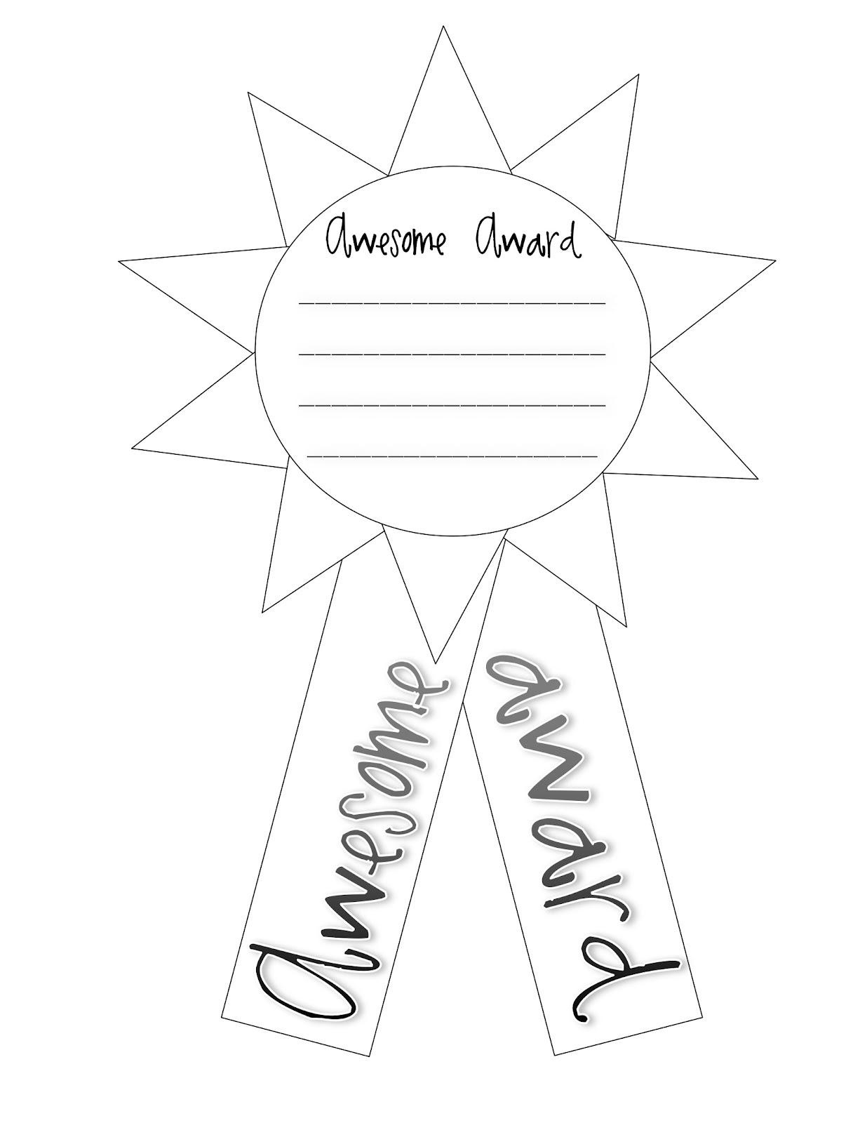 Teacher Idea Factory: AWESOME AWARDS + FINAL COUNTDOWN