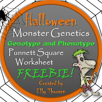 Free Halloween Genetics Worksheet