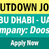 Urgent Recruitment to Doosan - Shutdown Jobs in Abu Dhabi