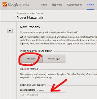 Cara Menambahkan Blog Baru ke Google Analytics