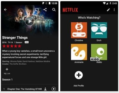 Netflix v5.12.0 build 25744 Apk