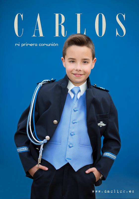 Carlos - Fotos de comunión