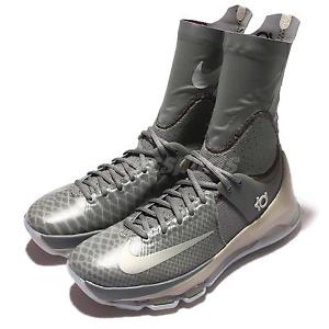 Sepatu Basket Nike KD8 Zoom Elite High Grey