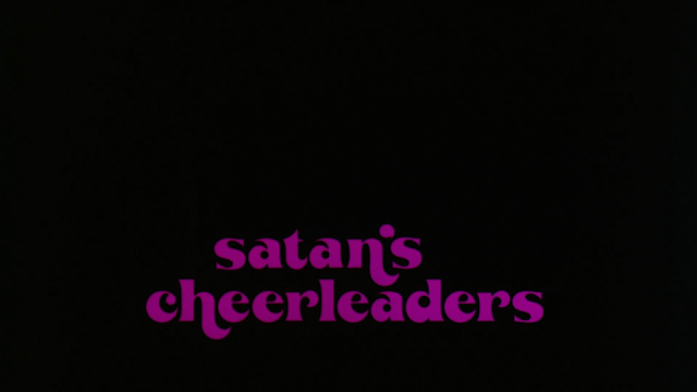 The Satan's Cheerleaders title card