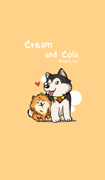 Cream and cola