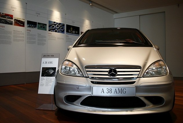 The First Mercedes Benz A Class Amgs The A38 And A32k Amg Car