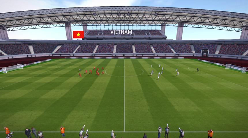 PES 2017 Mỹ Đình National Stadium by Ali Basel Stadium Maker