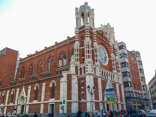 Resultado de imagen de iglesia de sagrado corazon bilbao