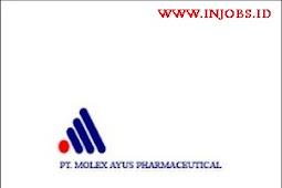 Lowongan Kerja SMA/SMK Sederajat PT Molex Ayus Pharmaceutical Daerah Tangerang