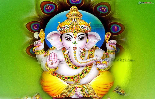 wallpaper of god ganesh